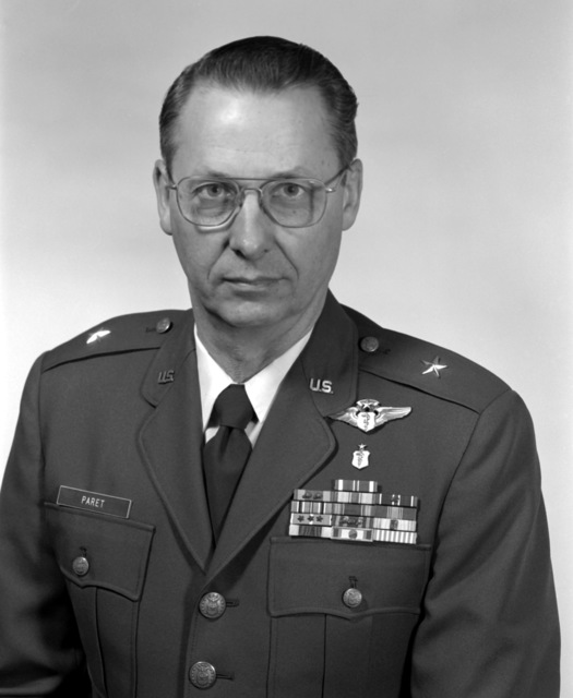 BGEN Robert W. Paret, USAF (uncovered)