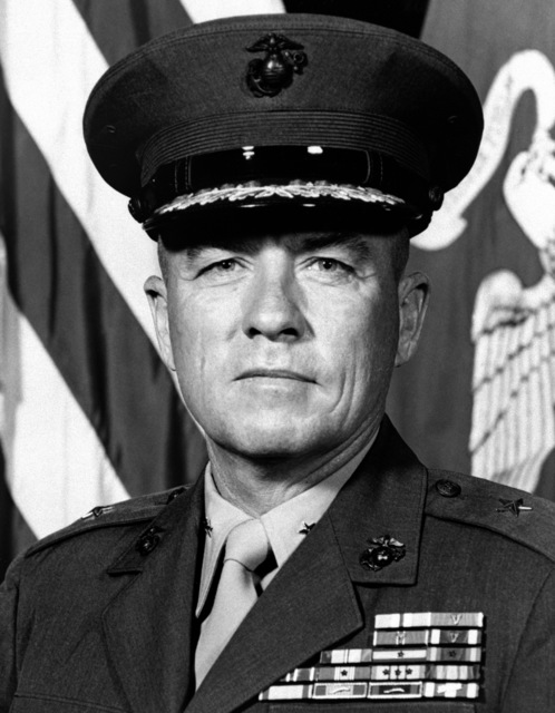 Brig. GEN. Louis H. Buehl III, USMC (covered)