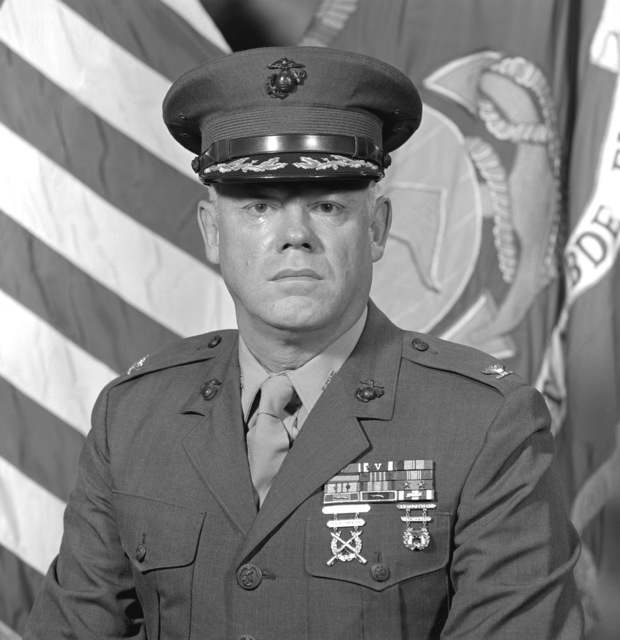 COL Edward M. Mockler, USMC (covered)