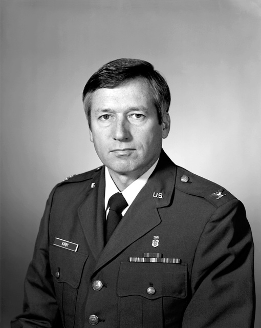 COL Robert R. Kirby, USAF (uncovered)