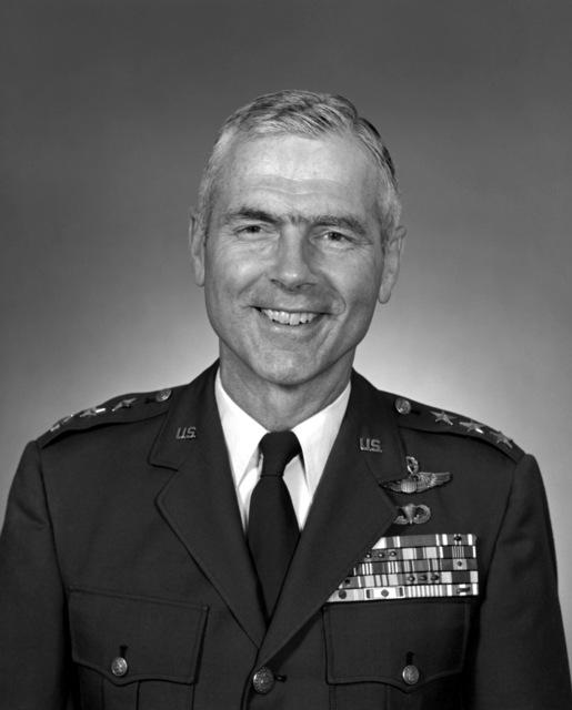 LGEN Charles Cleveland, USAF (uncovered)