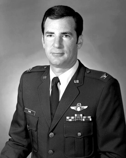 COL Benny D. Thome, USAF (uncovered)