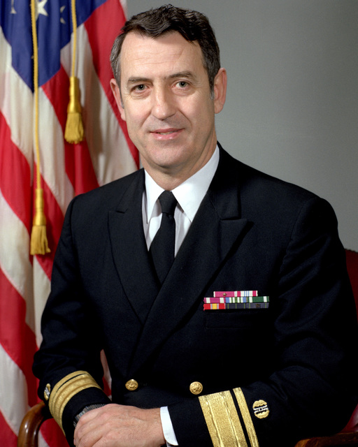 RADM Bruce A. Harlow, USN (uncovered)