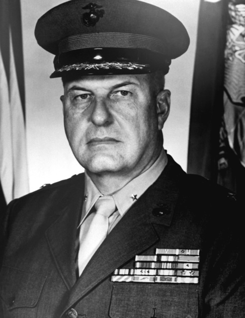 BGEN Joseph B. Knotts, USMC (covered)