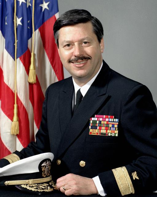 CMDR Stuart F. Platt, USN (uncovered)