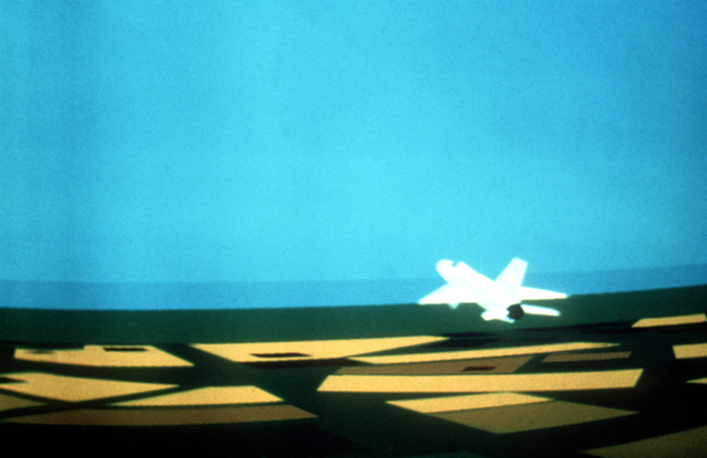 Air Force Resources Laboratory. A Digital Image Generation (DIG) example of an air-to-air scene