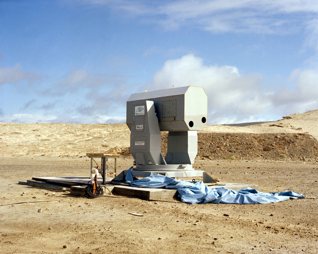 A view of a Rolling Airframe Missile (RAM) on San Nicolas Island, Pacific Missile Test Center (PMTC)