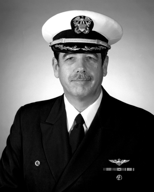 CAPT Ronald G. Horne, USN (covered)