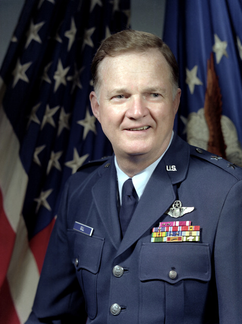 MGEN Sloan R. Gill, USAF (uncovered)