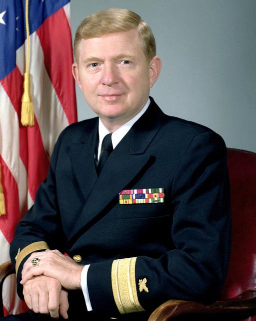 CMDR John H. Ruehlin, USN (uncovered)