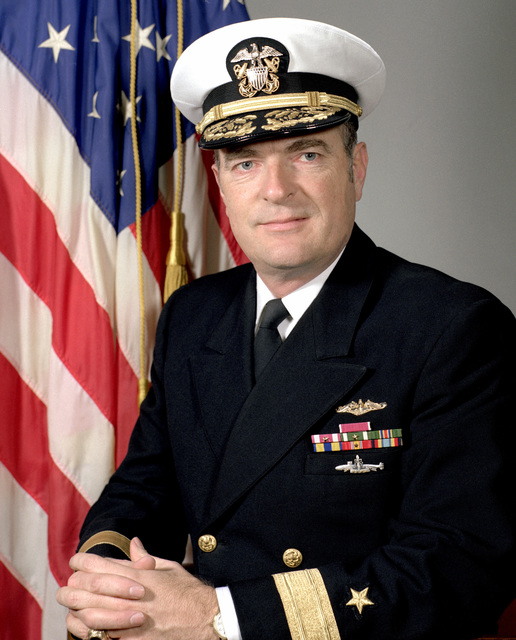 CMDR Ronald M. Eytchison, USN (covered)