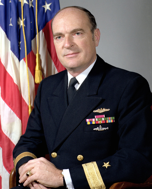 CMDR Ronald M. Eytchison, USN (uncovered)