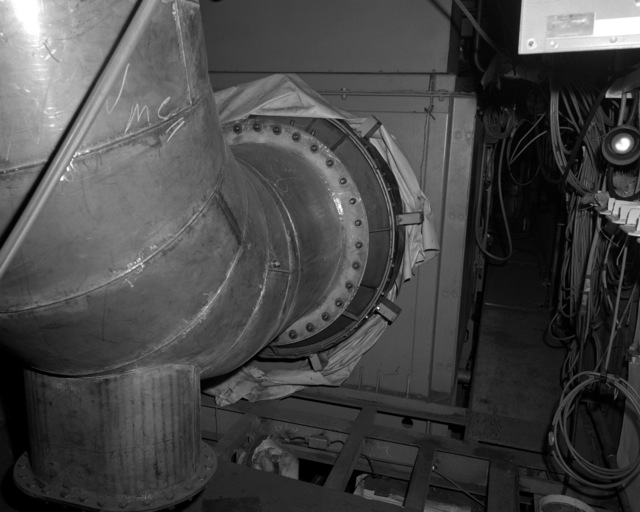 A view of generator No. 3 aboard the destroyer HAYLER (DD-997) at 60 percent completion