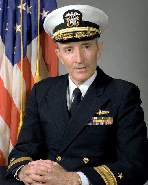 CMDR Richard C. Ustick, USN (covered)