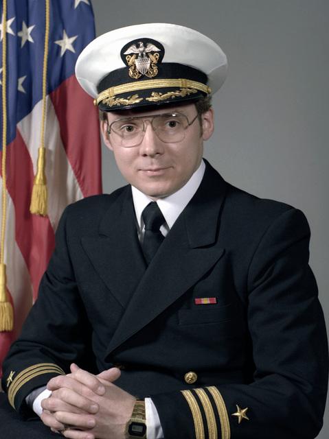 CDR Donald L. Alf, USN (covered)