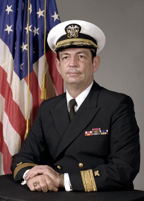 CMDR Carl R. Webb, USN (covered)