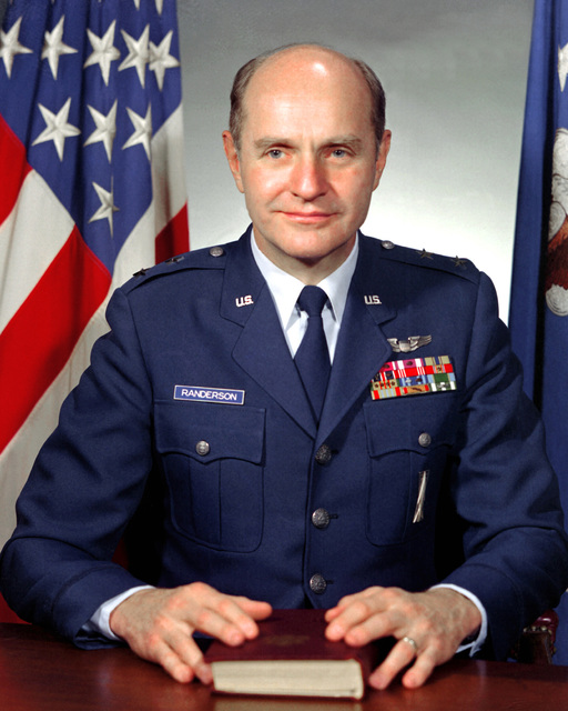 MGEN John T. Randerson, USAF (uncovered)