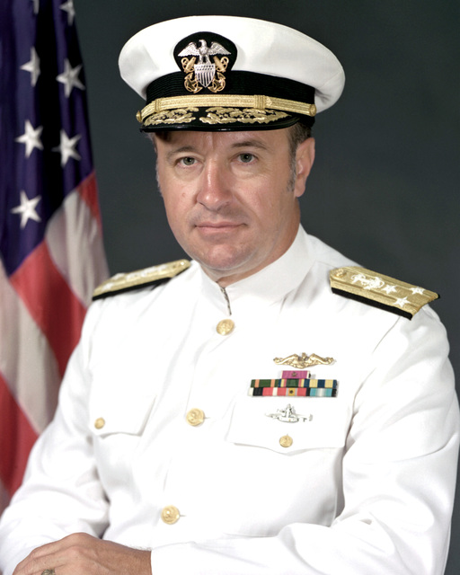 VADM Carlisle A. H. Trost, USN (covered)