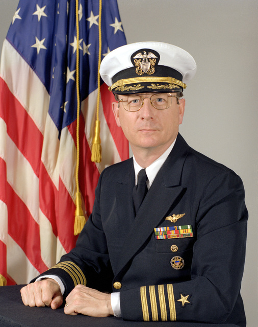 CAPT Eric A. McVadon, USN (covered)