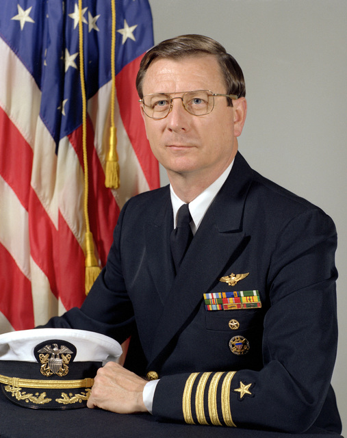 CAPT Eric A. McVadon, USN (uncovered)