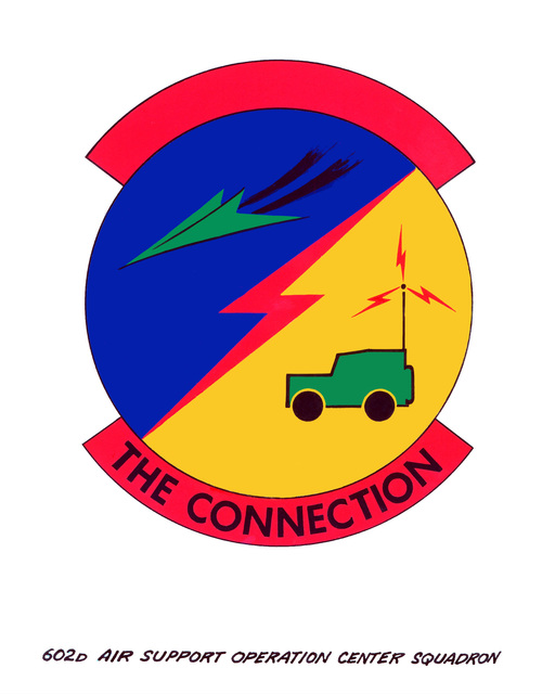 Approved Insignia for: 602nd Air Support Operation Center Squadron