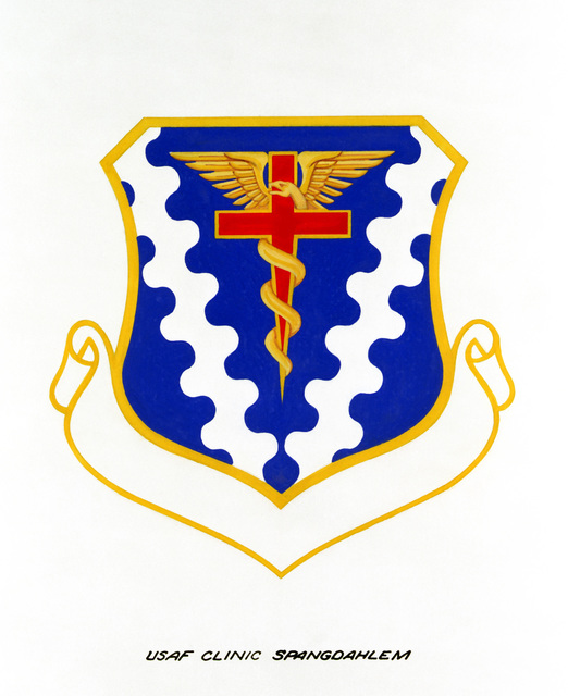 Approved insignia for: Air Force Clinic Spangdahlem