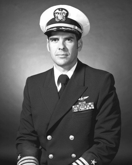 CDR Charles W. Singler, USN (covered)