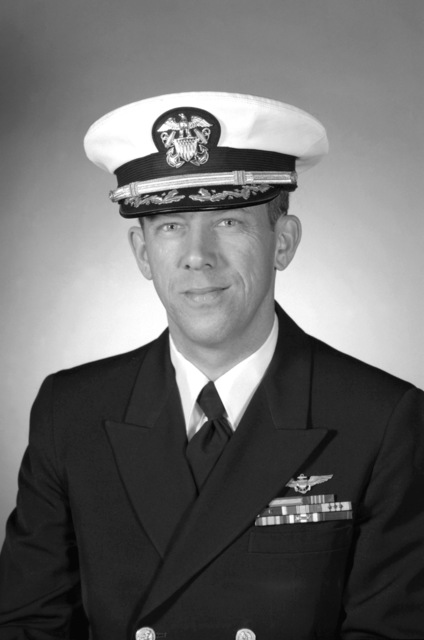 CDR Francis W. St. Pierre, USN (covered)