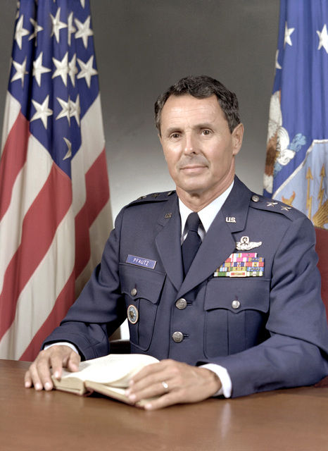 MGEN James C. Pfautz, USAF (uncovered)