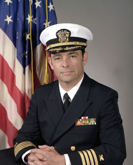 CAPT Harrison N. Walther, USN (covered)