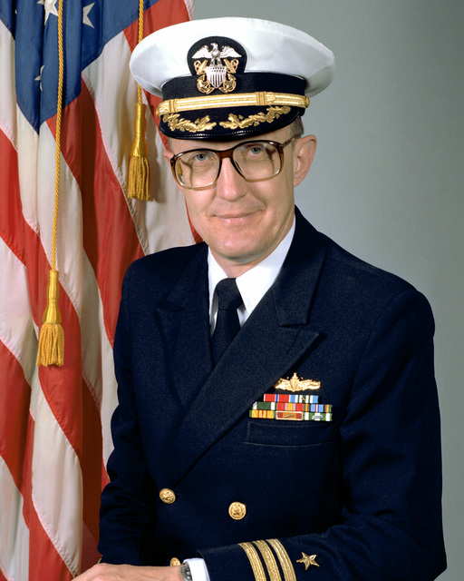 CDR Eugene M. Stubsten, USN (covered)
