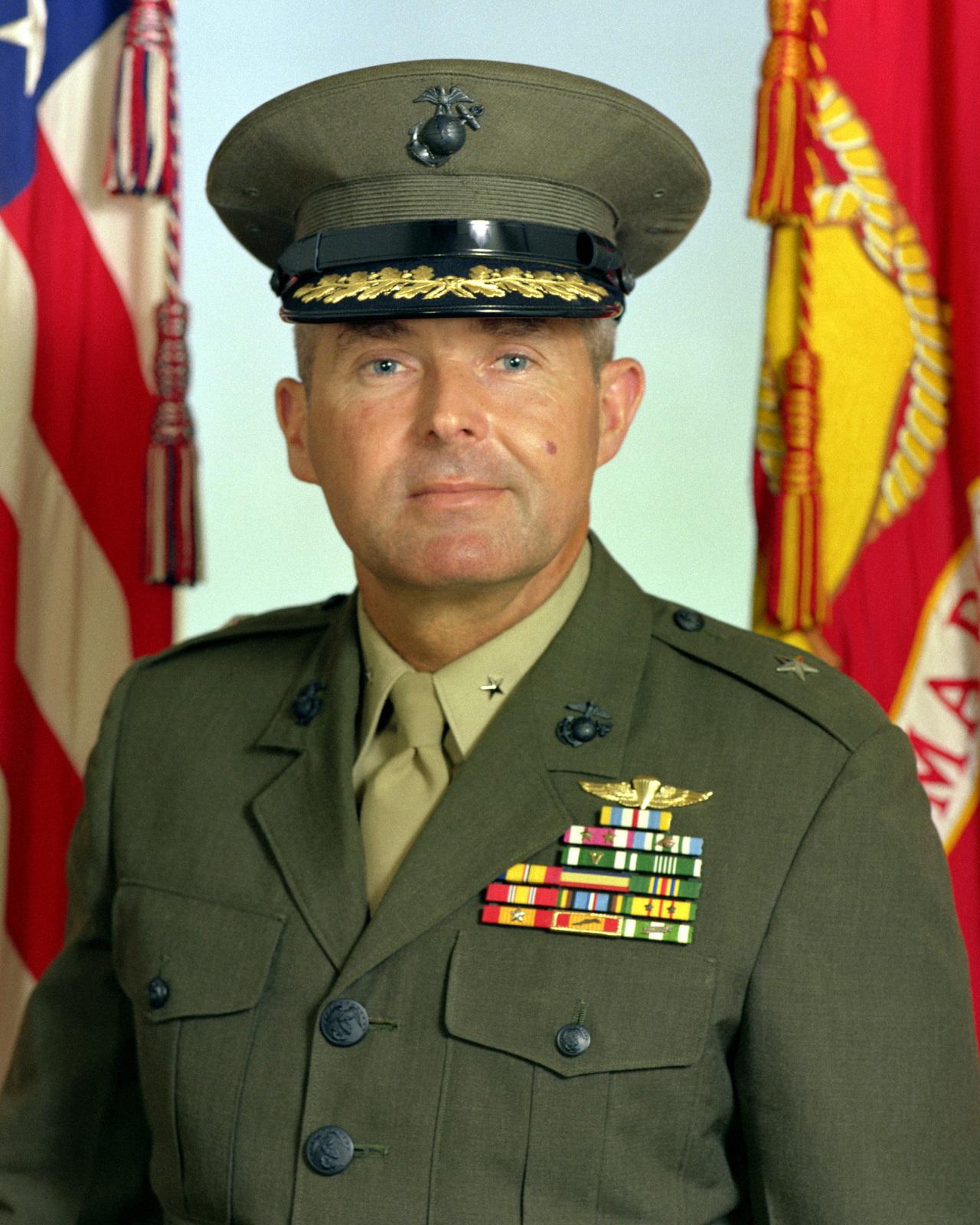 BGEN Michael K. Sheridan, USMC (covered)