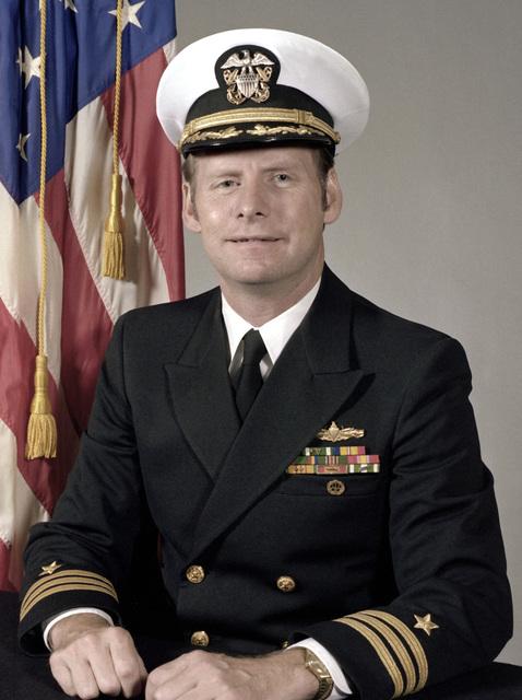 CDR Nicholas V. McKenna, USN (covered)