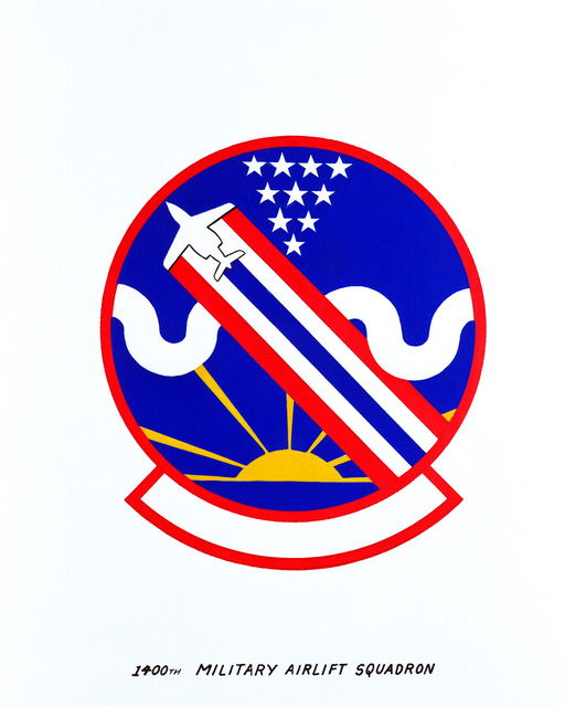 Approved insignia for: 1400th Military Airlift Squadron