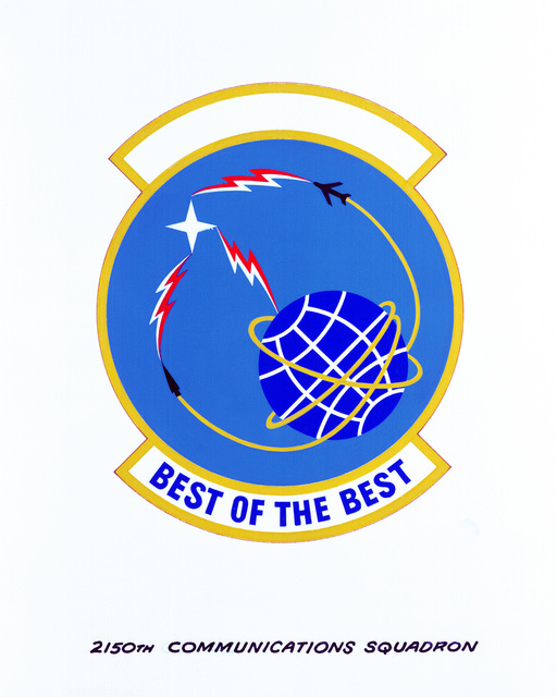 Approved insignia for: 2150th Communications Squadron