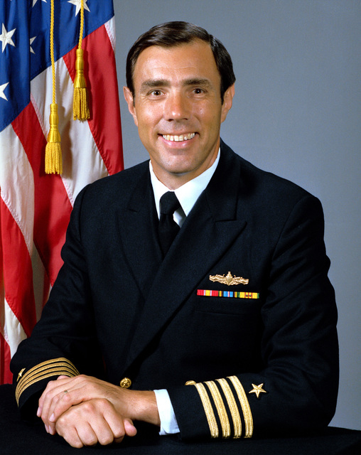 CAPT Laurance W. Wilson, USN (uncovered)