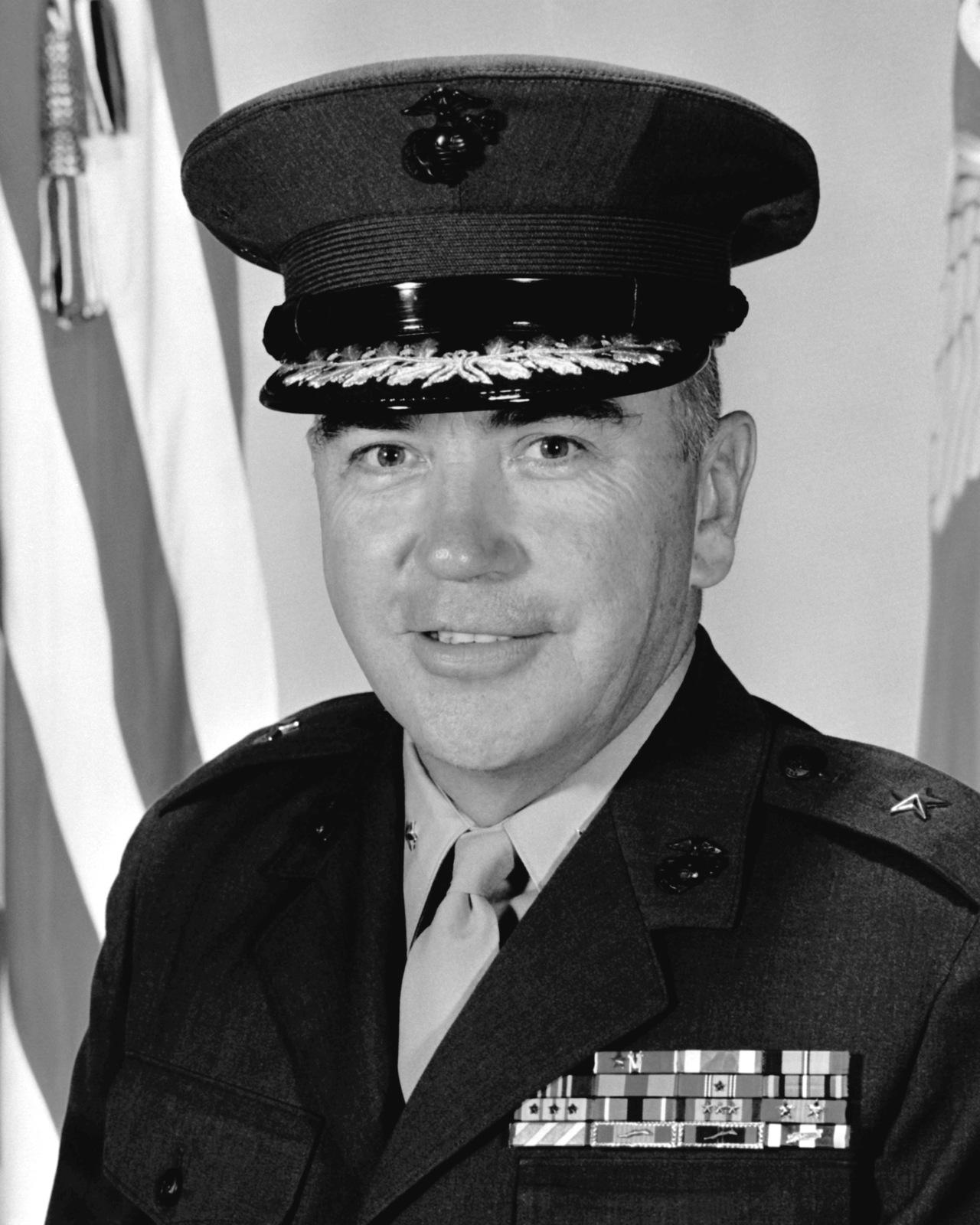BGEN Edmund P. Looney Jr., USMC (covered)