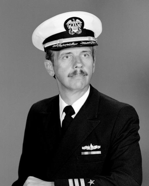 CDR John E. Parker, USN (covered)