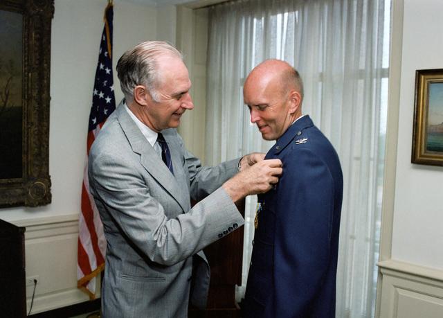 Secretary of Defense hosts award ceremony for four