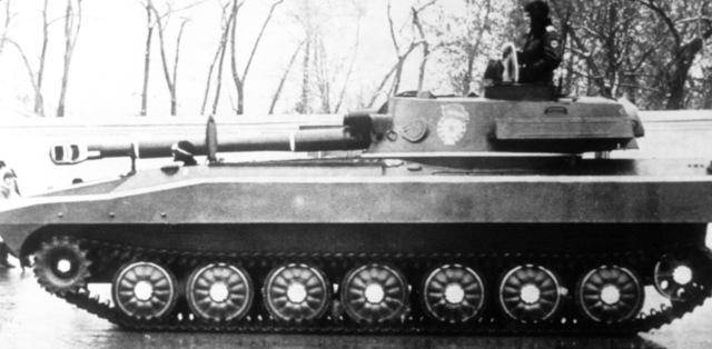 122mm self-propelled howitzer