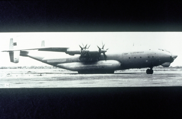 An-22/Cock long range turboprop transport aircraft