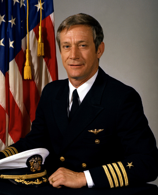 CAPT Milton M. Scott, USN (uncovered)