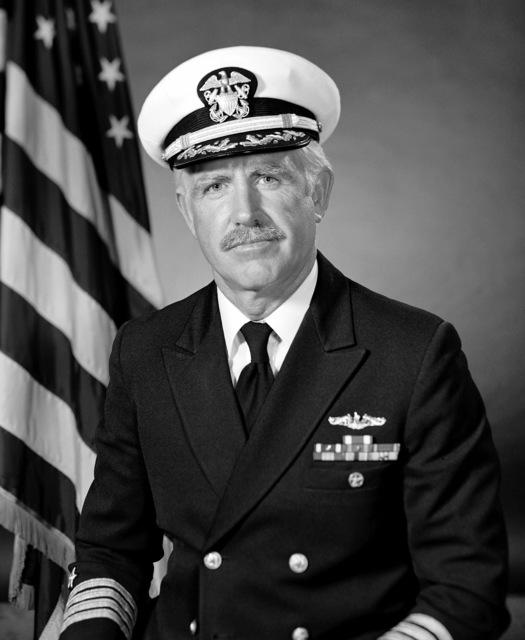 CAPT James M. Dunn, USN (covered)