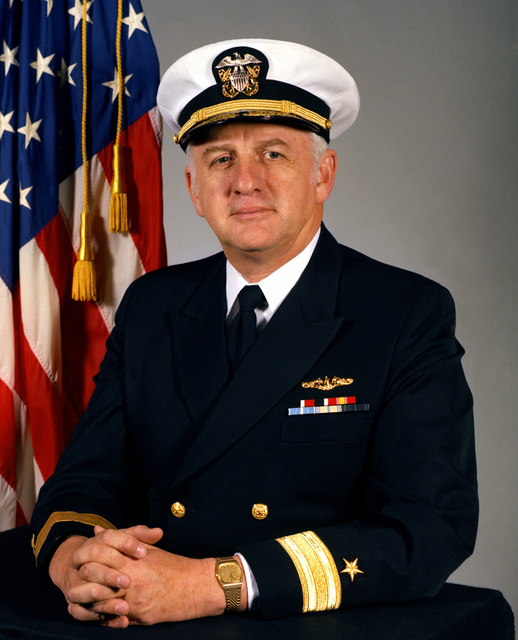 CMDR James B. Lowe, USN (covered)
