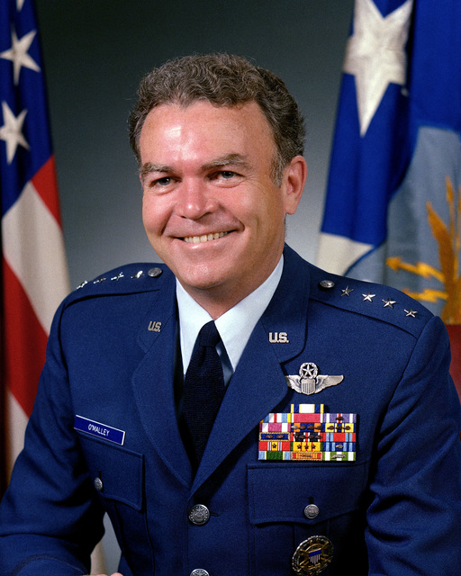 GEN Jerome F. O'Malley, USAF (uncovered)