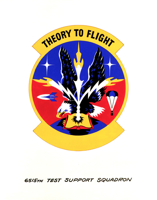 Approved Insignia for: 6515th Test Support Squadron