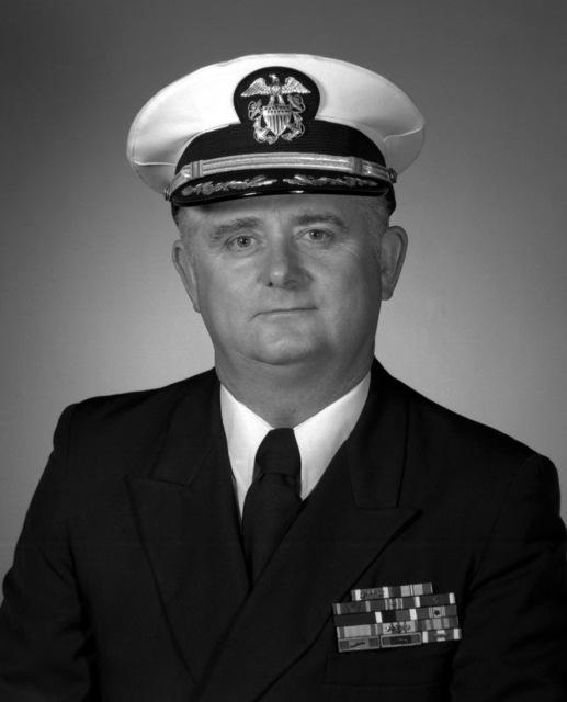 CAPT Edmond B. Ferguson, USN (covered)