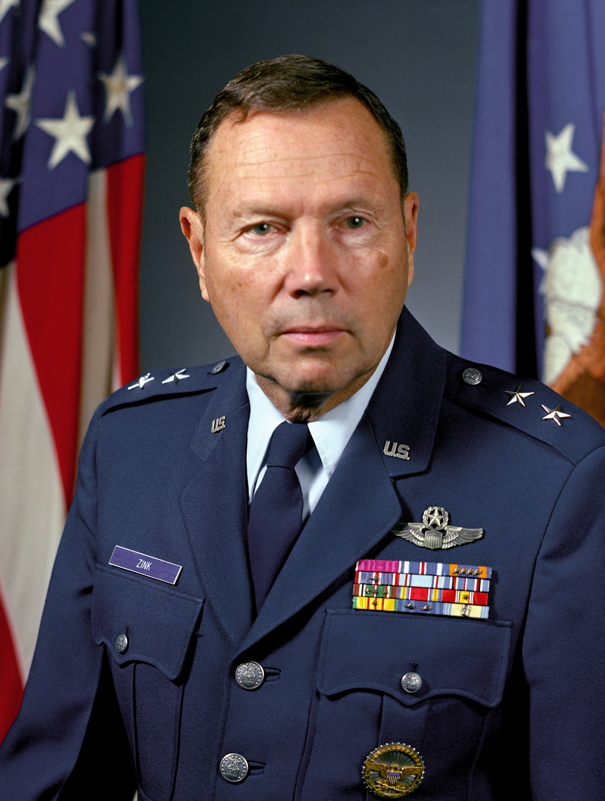 MGEN Joseph D. Zink, USAF (uncovered)
