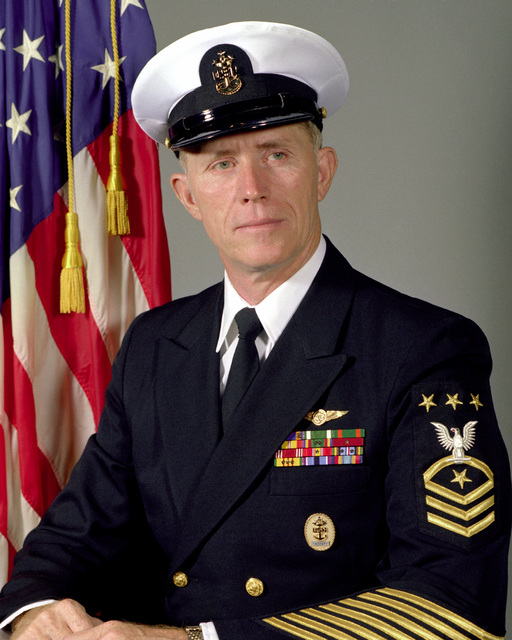 MASTER CHIEF Avionics Technician Billy C. Sanders, USN (MASTER CHIEF PETTY Officer of the Navy) (covered)