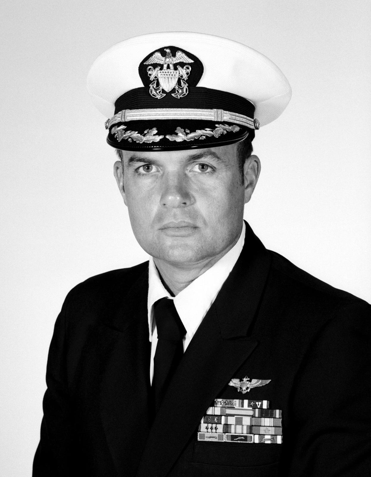 CDR Hugh J. McCullom, USN (covered)